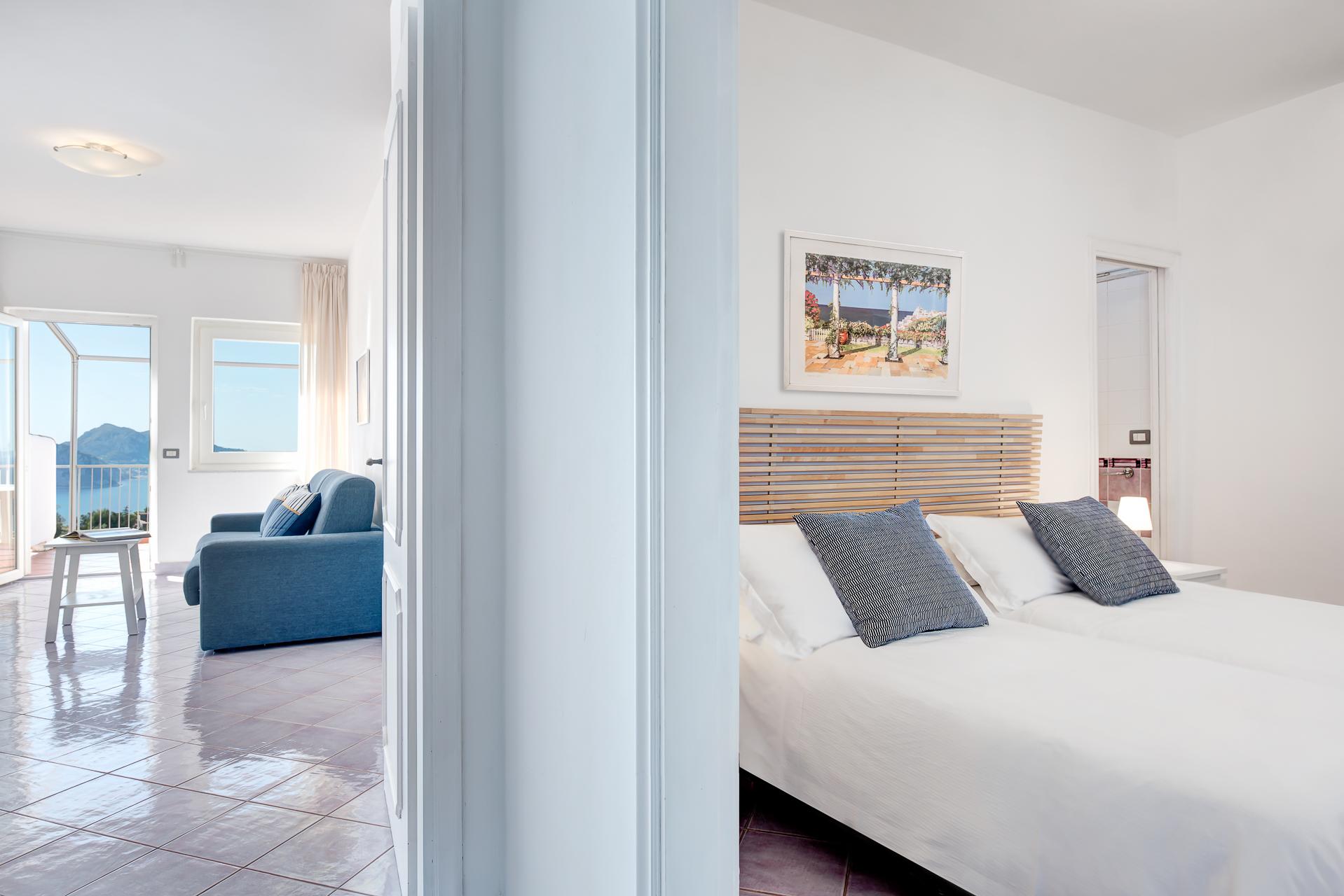 gocce di capri two bedroom apatment superior sorrento bedroom